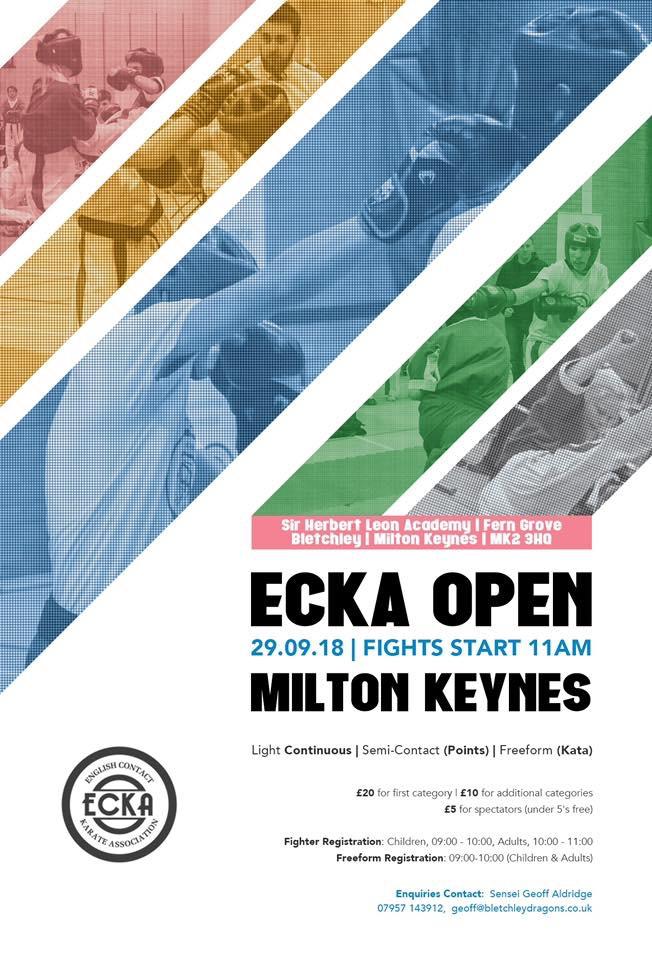ECKA Milton Keynes Open @ Sir Herbert Leon Academy | Bletchley | England | United Kingdom