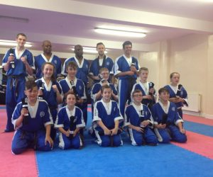 New ECKA Black belts