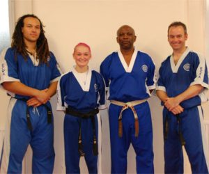 ECKA Dan Grading at the 2012 Summer Course